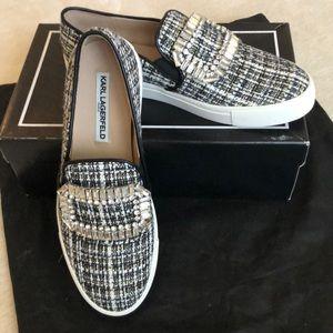 NIB Boucle slip-on sneakers, 8.5 Karl Lagerfeld